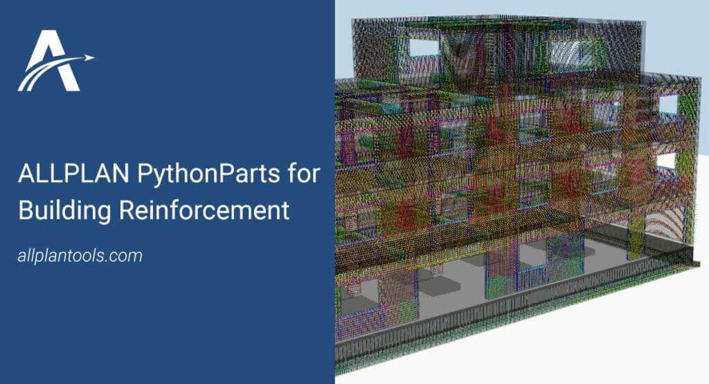 Allplan pythonparts for Building Reinforcement