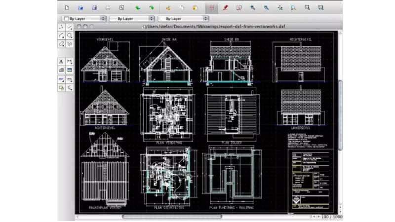 librecad is a lightweight and opensource software that lets you develop 2D technical drawings and designs