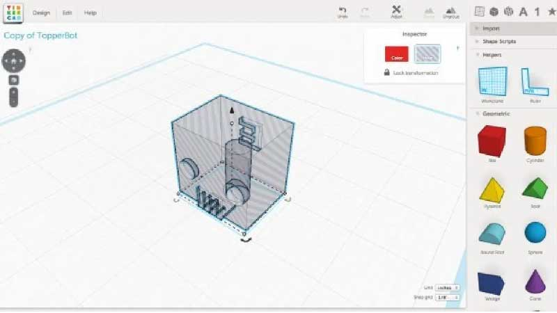 TinkerCAD – From mind to design in minutes