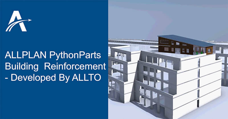 Allplan PythonParts For Building Reinforcement - Speed Up The Job Of Engineers